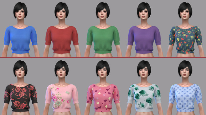 Eva blouse at Soloriya image 8111 670x375 Sims 4 Updates