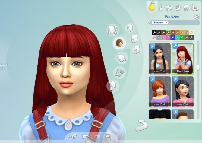 Lila Hair for Girls at My Stuff image 81111 670x474 Sims 4 Updates