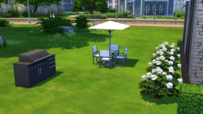 Simple Modern House by Malwa1216 at Mod The Sims Sims 4 Updates