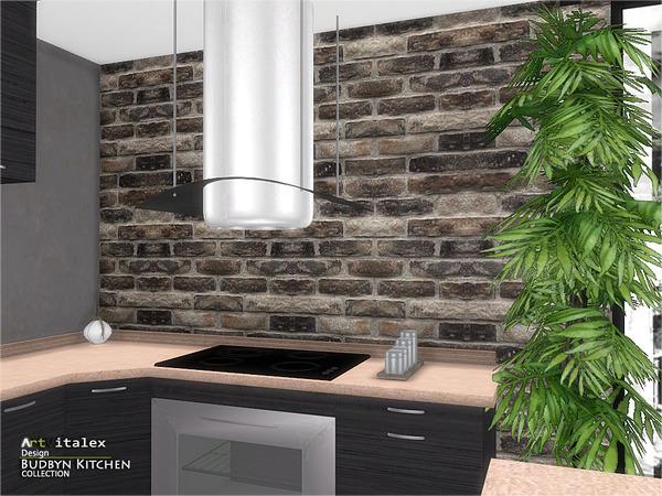 Budbyn Kitchen by ArtVitalex at TSR image 820 Sims 4 Updates