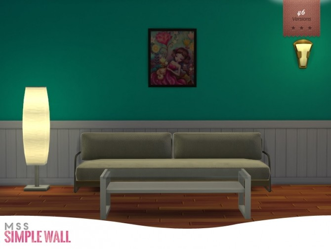 Simple Wall by midnightskysims at SimsWorkshop image 8310 670x503 Sims 4 Updates