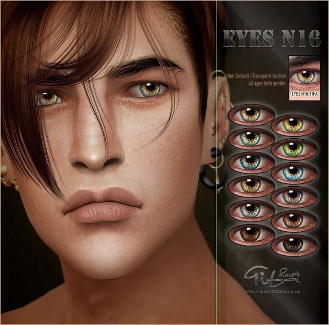 Eyes N16 ND At Tifa Sims » Sims 4 Updates