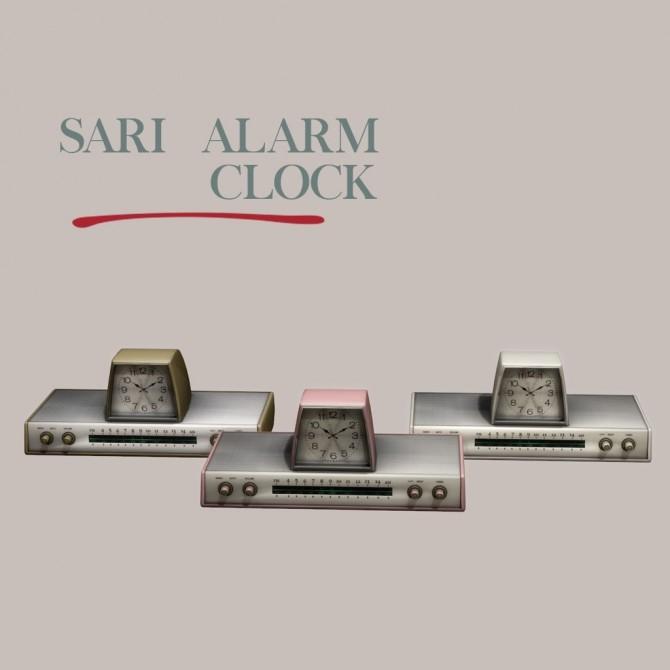Sims 4 Sari Alarm Clock at Leo Sims