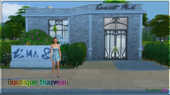 Boutique Nouveau by BroadwaySim at Mod The Sims image 8514 670x377 Sims 4 Updates