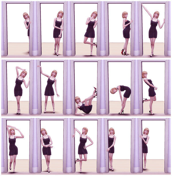 Sims 4 Combination pose 19 at A luckyday