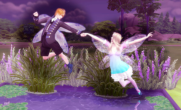 Fly Pose at A luckyday image 861 Sims 4 Updates