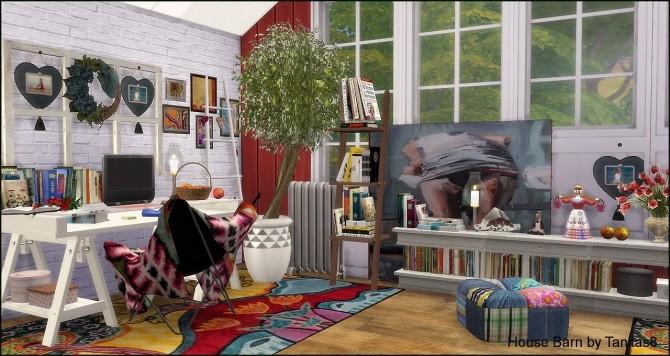 Sims 4 House Barn at Tanitas8 Sims