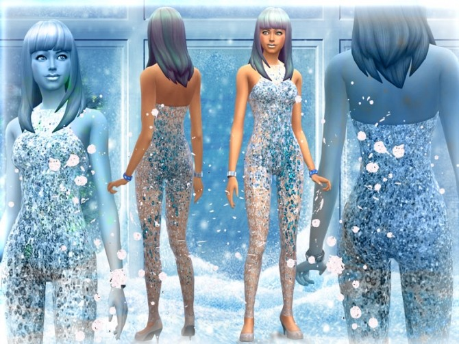 Sims 4 Updated Frozen set by Simalicious at Mod The Sims