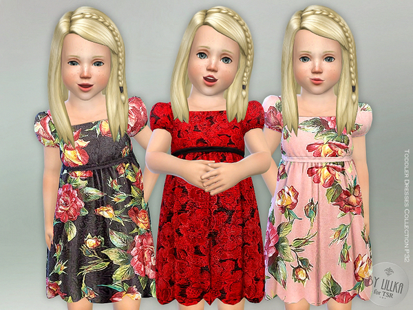 Toddler Dresses Collection P32 by lillka at TSR image 910 Sims 4 Updates