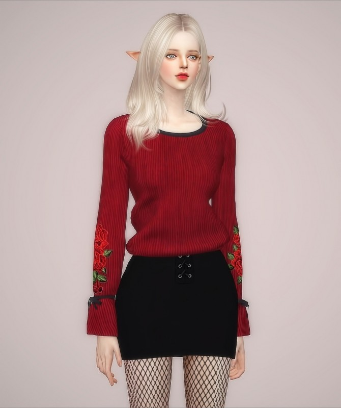 F Elline Top at Meeyou image 9111 670x800 Sims 4 Updates