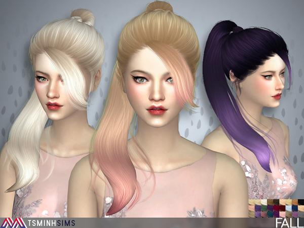 Fall Hair 41 by TsminhSims at TSR image 920 Sims 4 Updates
