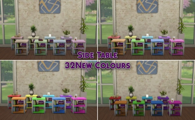 4 Cool Kitchen Objects Recolour 32 New Colours by simsessa at Mod The Sims image 9210 670x412 Sims 4 Updates