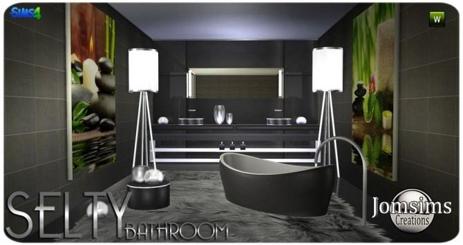 Salty bathroom at Jomsims Creations image 9221 670x355 Sims 4 Updates