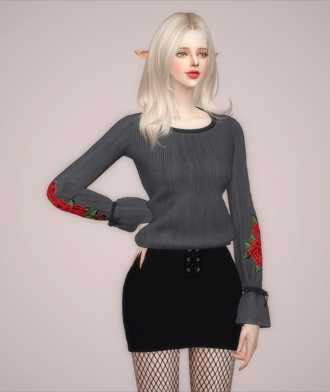 F Elline Top at Meeyou image 929 670x796 Sims 4 Updates