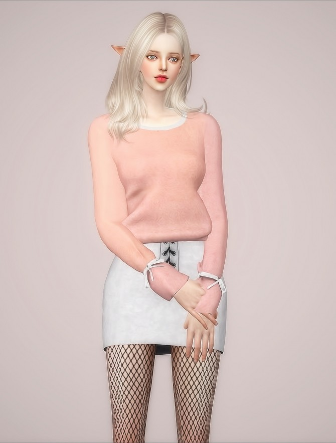 F Elline Top at Meeyou image 937 670x883 Sims 4 Updates