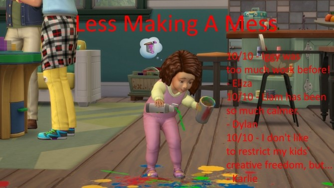 Less Make A Mess by jackboog21 at Mod The Sims image 938 670x377 Sims 4 Updates