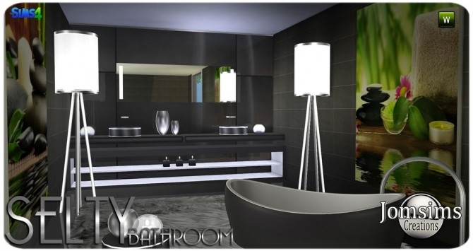 Salty bathroom at Jomsims Creations image 9417 670x355 Sims 4 Updates