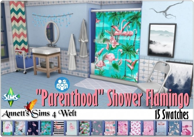 Parenthood Shower Flamingo at Annett's Sims 4 Welt image 944 670x474 Sims 4 Updates