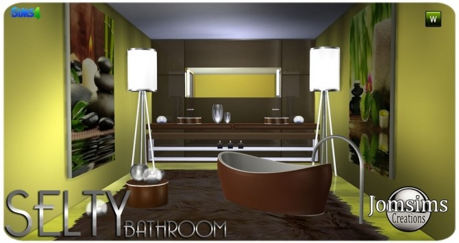 Salty bathroom at Jomsims Creations image 9517 670x355 Sims 4 Updates