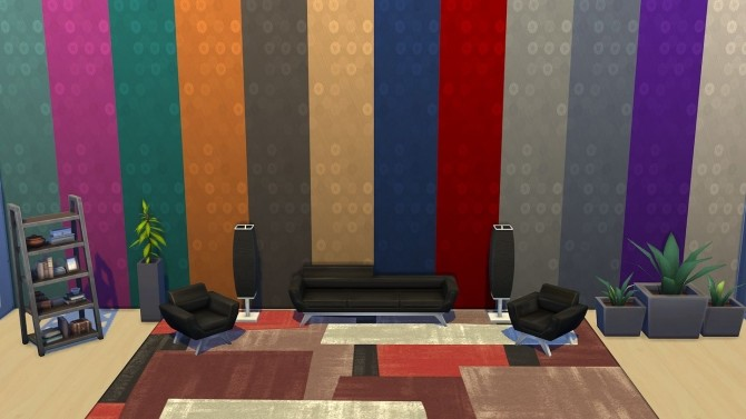 Sims 4 Updated set of 31 abstract wallpapers by Simalicious at Mod The Sims
