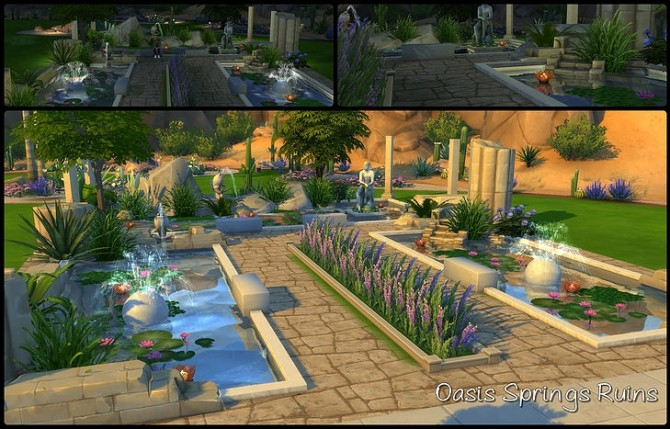 Sims 4 Oasis Springs Ruins at SkyFallSims Creation´s