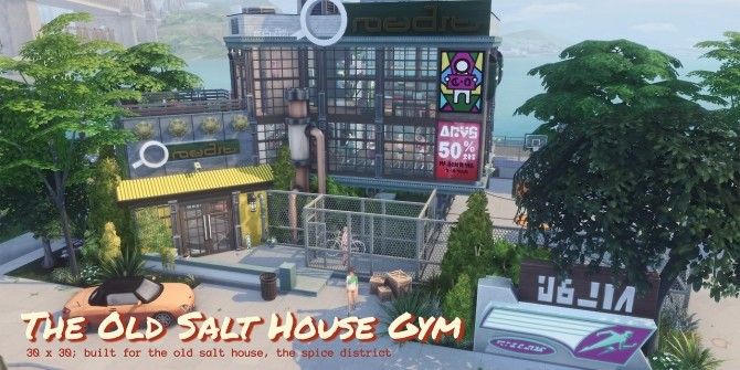 THE OLD SALT HOUSE GYM at Picture Amoebae image 975 670x335 Sims 4 Updates
