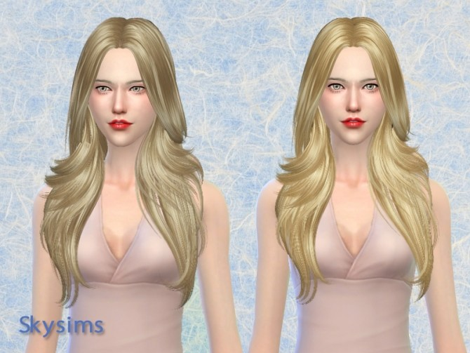 Sims 4 Hair 081p by Skysims (free) at Butterfly Sims