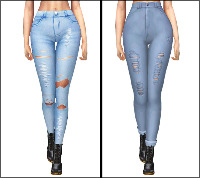 Mm Jeans 1 At Kenzar Sims 187 Sims 4 Updates
