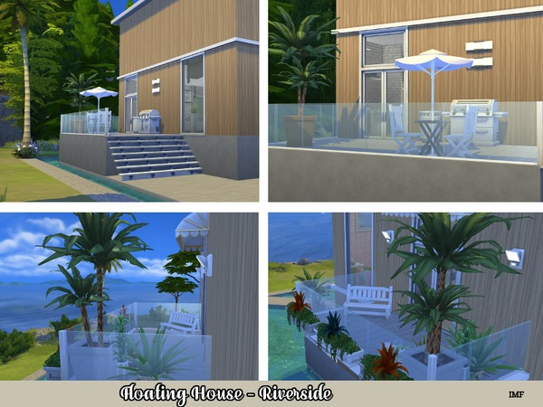 IMF Floating House Riverside by IzzieMcFire at TSR image 1011 Sims 4 Updates