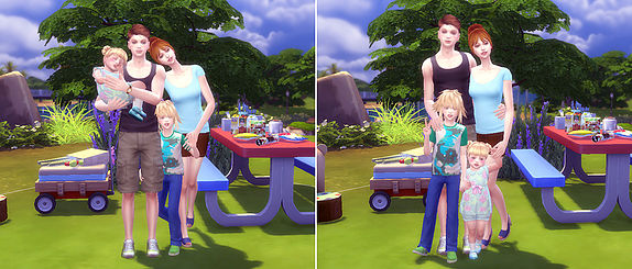 Family Pose 09 at A luckyday image 10216 Sims 4 Updates