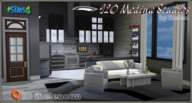 920 Medina Studios by ihelen at ihelensims image 1022 670x360 Sims 4 Updates