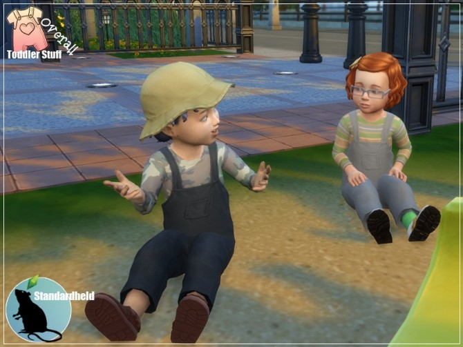 Sims 4 Toddler Stuff Overall by Standardheld at SimsWorkshop