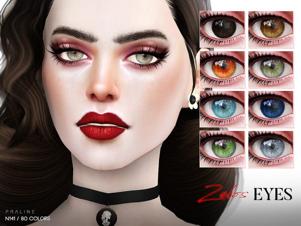 Zelos Eyes N141 by Pralinesims at TSR image 1034 Sims 4 Updates