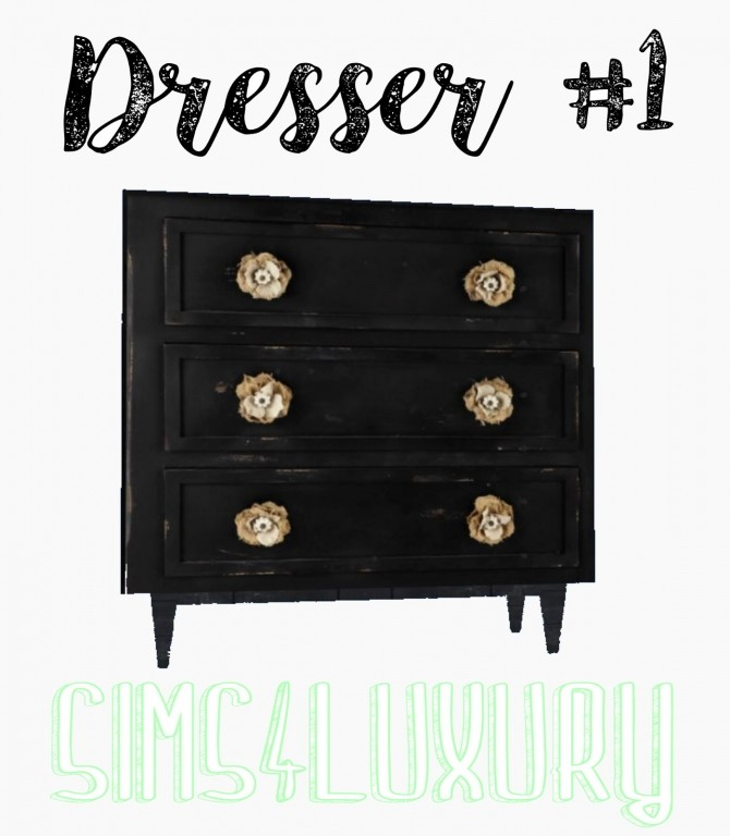 Sims 4 Dresser #1 at Sims4 Luxury