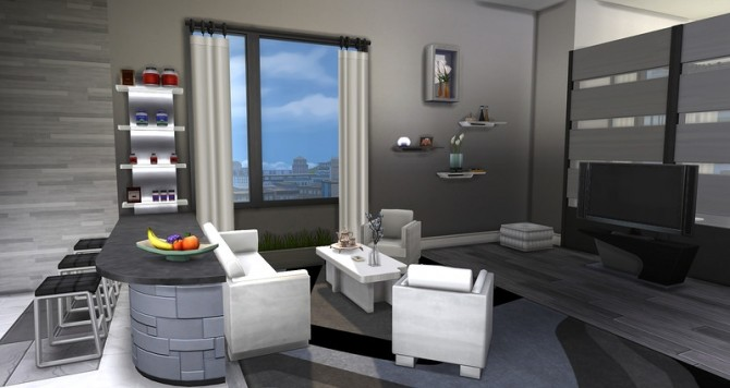 Sims 4 920 Medina Studios by ihelen at ihelensims