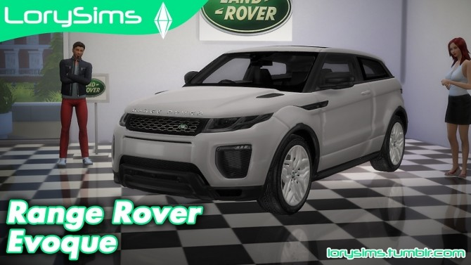 Land Rover Range Rover Evoque at LorySims image 1078 670x377 Sims 4 Updates