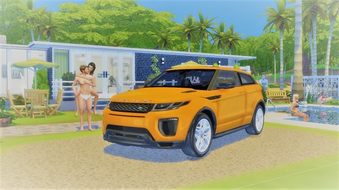 Land Rover Range Rover Evoque at LorySims image 1087 670x377 Sims 4 Updates
