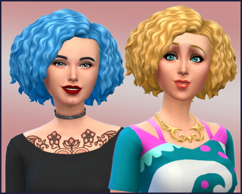 Sims 4 Lomy RC Hair Twists at CappusSims4You