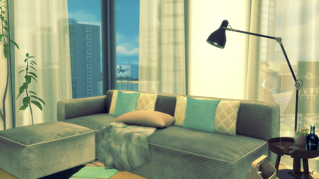 Apartment 1312 21 Chic Street at Evey Sims image 1101 Sims 4 Updates