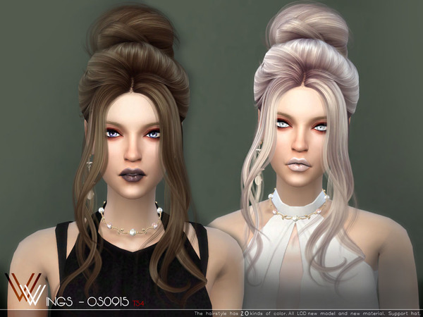 Sims 4 Hair OS0915 by wingssims at TSR