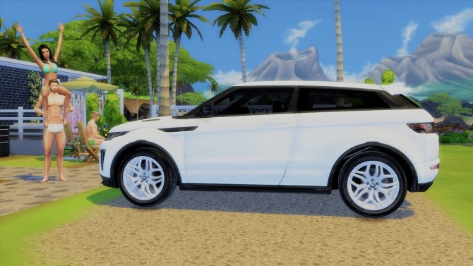 land rover range rover evoque at lorysims sims 4 updates. Black Bedroom Furniture Sets. Home Design Ideas