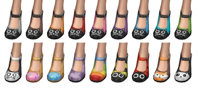 Kitty Janes shoes at SimLaughLove image 1132 670x299 Sims 4 Updates