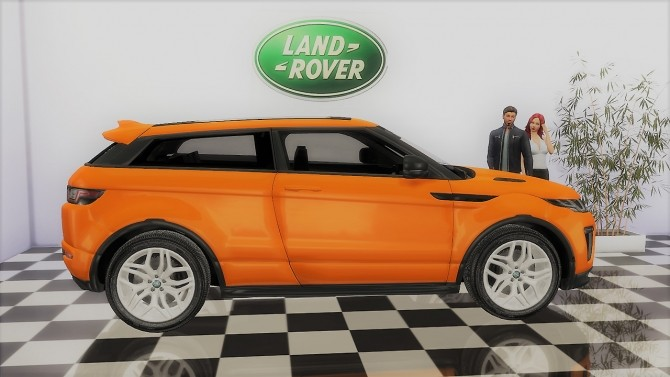 Land Rover Range Rover Evoque at LorySims image 1137 670x377 Sims 4 Updates