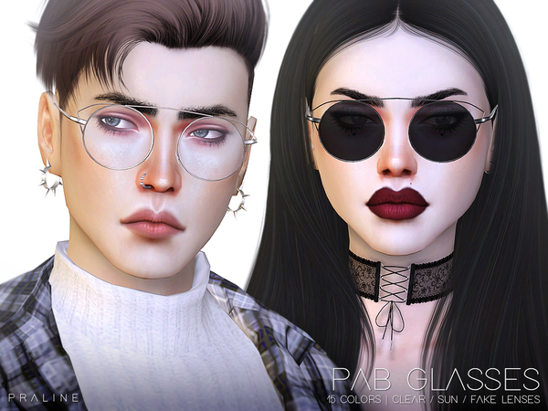 PAB Glasses by Pralinesims at TSR image 1140 Sims 4 Updates