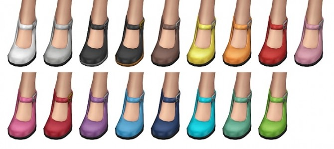 Kitty Janes shoes at SimLaughLove image 1142 670x299 Sims 4 Updates