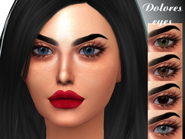 Sims 4 Dolores eyes by Sharareh at TSR