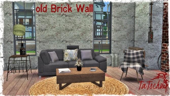 Old Brick Wall at TaTschu`s Sims4 CC image 1144 670x377 Sims 4 Updates