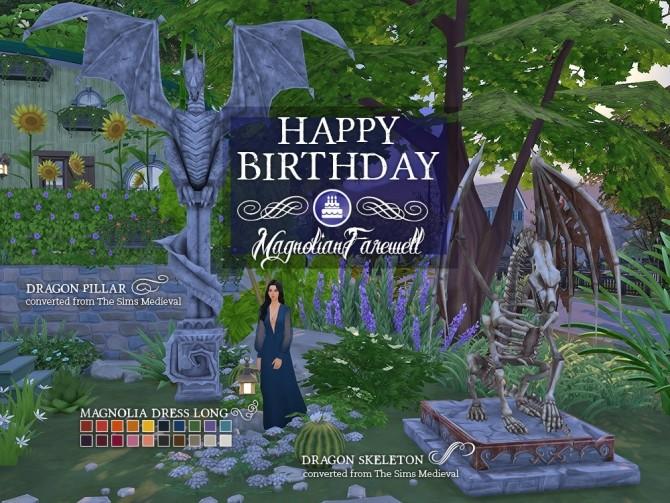 Magnolianfarewell's Birthday set at The Plumbob Tea Society image 1146 670x503 Sims 4 Updates
