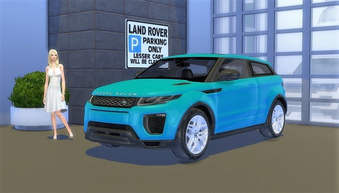 Land Rover Range Rover Evoque at LorySims image 1147 670x381 Sims 4 Updates