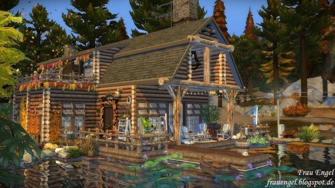Autumn Mood Cabin At Frau Engel 187 Sims 4 Updates